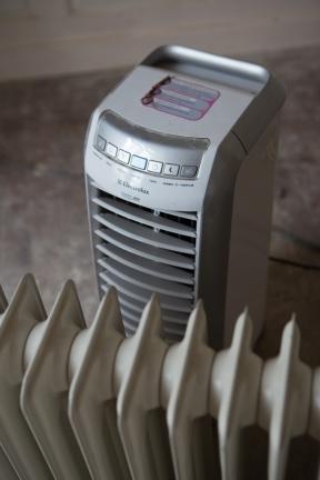 purificateur d'air et radiateur à bain d'huile