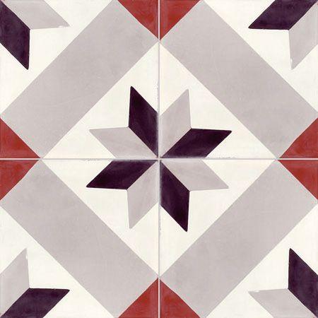 Carreaux de ciment - Les motifs - T29 - Couleurs & Matières